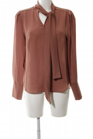 Mint&berry Slip-over Blouse brown business style