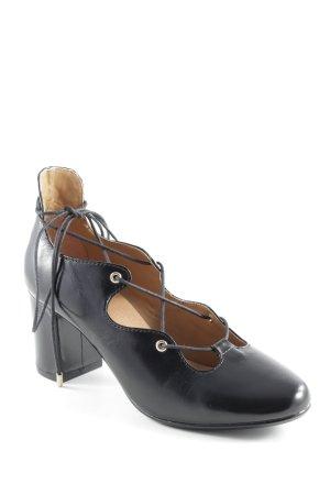 Mint&berry Aanrijg Pumps zwart zakelijke stijl
