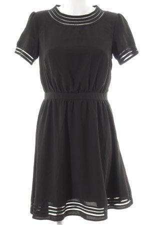 Mint&berry Shirtkleid schwarz schlichter Stil