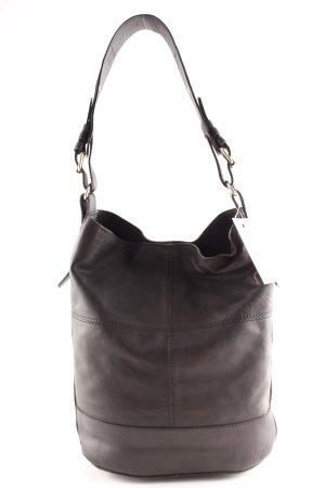 Mint&berry Shopper schwarz klassischer Stil