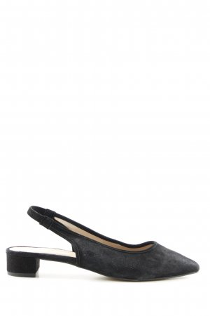 Mint&berry Slingback Ballerinas schwarz Business-Look