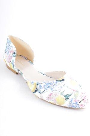 Mint&berry Slingback Ballerinas mixed pattern elegant