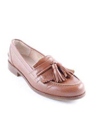 Mint&berry Zapatos formales sin cordones marrón estilo clásico
