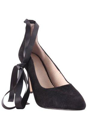 Mint&berry Spitse pumps zwart elegant