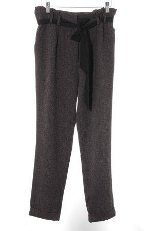 Mint&berry Stoffhose blasslila-schwarz Farbverlauf klassischer Stil