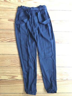 Mint & Berry Stoffhose Chino High-Waist-Hose dunkelblau - wie NEU – 34