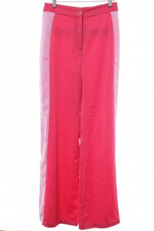 Mint&berry Stoffhose magenta-rosa Colourblocking 80ies-Stil