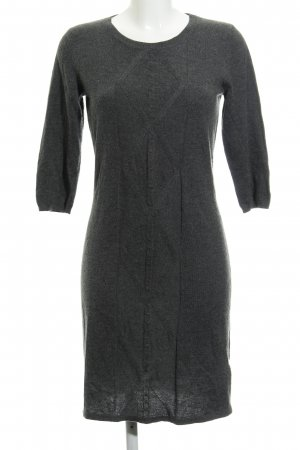 3e66bf235087e3 Mint berry Gebreide jurk donkergrijs casual uitstraling
