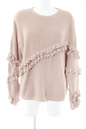 Mint&berry Strickpullover altrosa Casual-Look