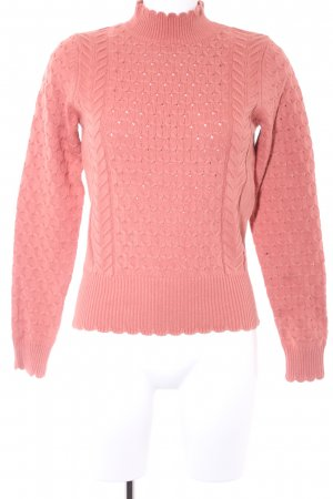 Mint&berry Knitted Sweater apricot casual look