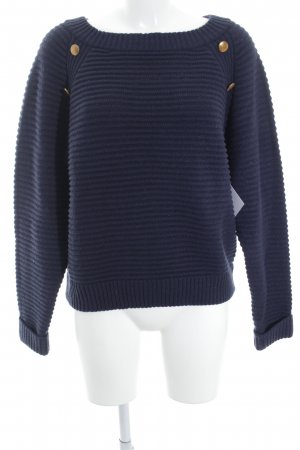 Mint&berry Knitted Sweater dark blue casual look