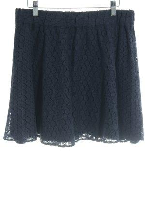 Mint&berry Knitted Skirt dark blue elegant