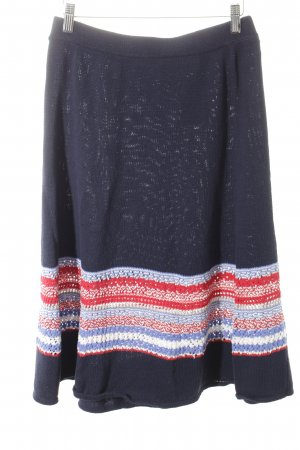 Mint&berry Knitted Skirt striped pattern casual look