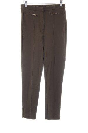 Mint&berry Pantalon de jogging vert olive style décontracté