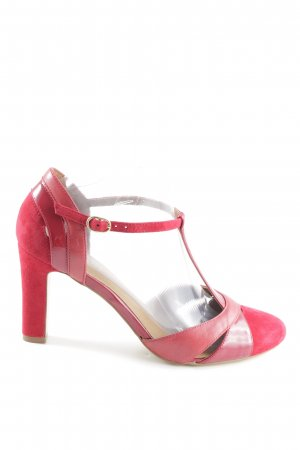 Mint&berry T-Steg-Pumps rot-pink Business-Look