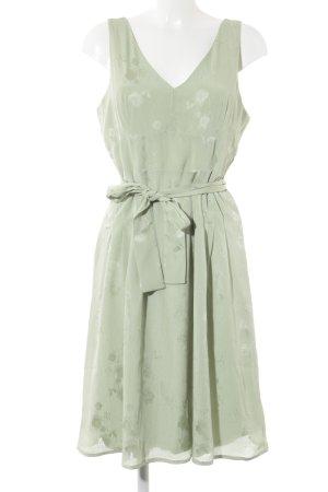 Mint&berry Trägerkleid blassgrün florales Muster Elegant