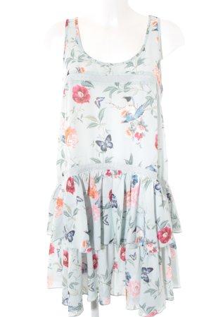 Mint&berry Trägerkleid Blumenmuster