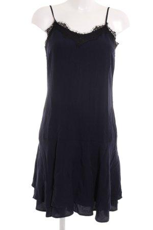 Mint&berry Trägerkleid dunkelblau-schwarz Elegant