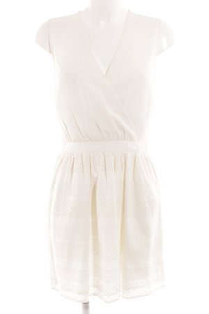 Mint&berry Trägerkleid weiß Romantik-Look