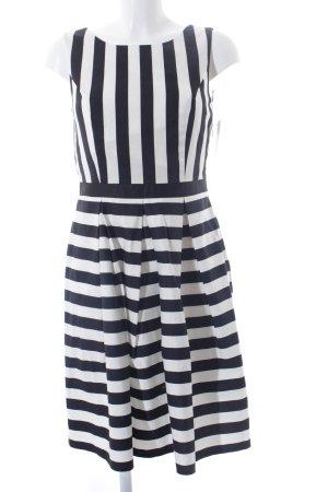 Mint&berry Trägerkleid weiß-schwarz Streifenmuster Casual-Look