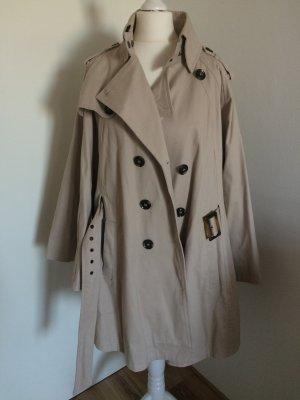 Mint&Berry Trenchcoat M/L 38/40 neu Cape beige Herbst Mantel