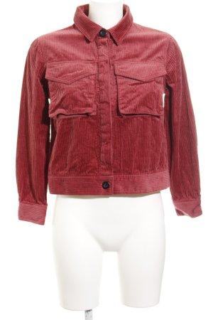 Mint&berry Übergangsjacke dunkelrot Casual-Look