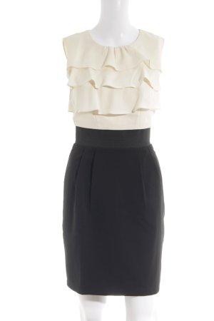 Mint&berry Volante jurk room-zwart elegant