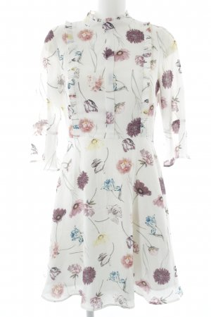 Mint&berry Volantkleid florales Muster Casual-Look