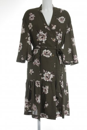 Mint&berry Wickelkleid Blumenmuster 50ies-Stil