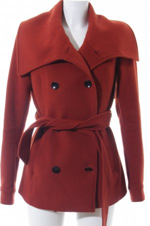 Mint&berry Winterjacke dunkelorange-orange klassischer Stil