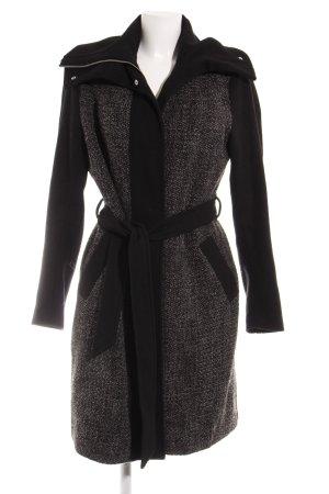 Mint&berry Manteau d'hiver noir-gris foncé style décontracté