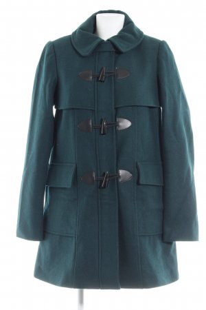 Mint&berry Wollmantel petrol Casual-Look