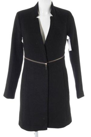 Mint&berry Cappotto in lana nero stile classico