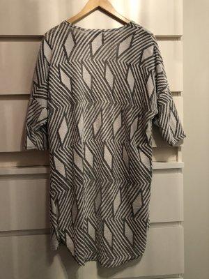 Knitted Blazer white-grey