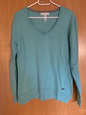 Adidas NEO V-Neck Sweater turquoise-mint