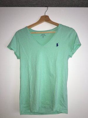 Mint Farbendes Ralph Lauren T-Shirt