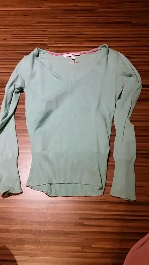 Mint farbener Pullover