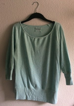 Mint farbener Sweater
