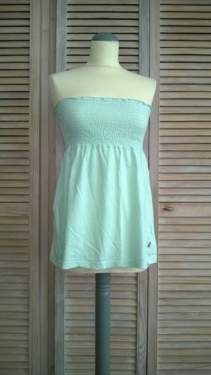 Mint-farbenes Bandeau-Top