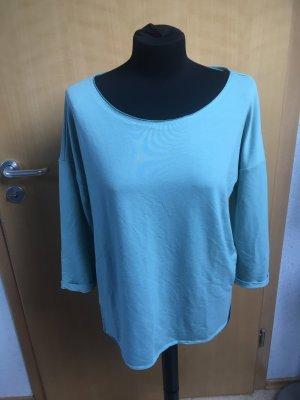 Mint farbenes Basic Shirt