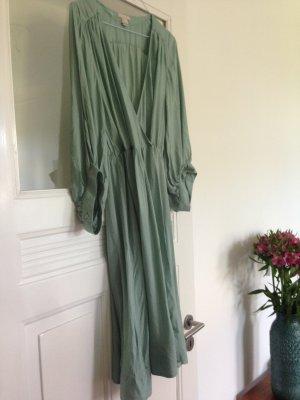 Mint farbenes Boho Seventies Look Kleid H&M TREND