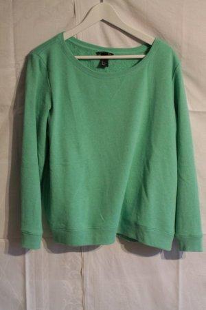 mint grüner dünner Pullover