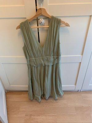 Asos Chiffon Dress mint-olive green