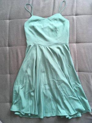 Vero Moda Robe trapèze vert menthe