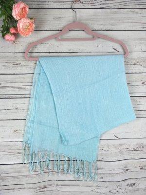 Pashmina bleu clair-bleu clair