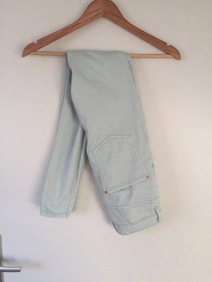 Mint high waist Jeans Blogger