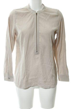 Mint Velvet Langarm-Bluse creme-beige schlichter Stil