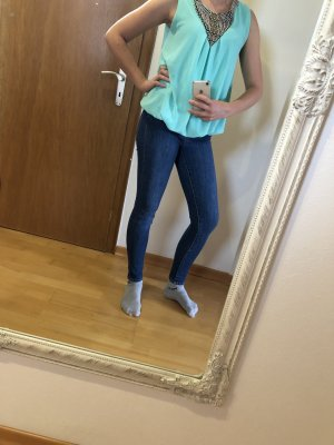 Mintfarbendes Top