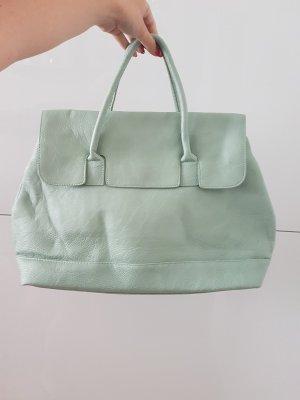 mintfarbene Handtasche von PIECES