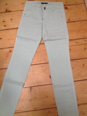 Marc Cain Five-Pocket Trousers baby blue mixture fibre